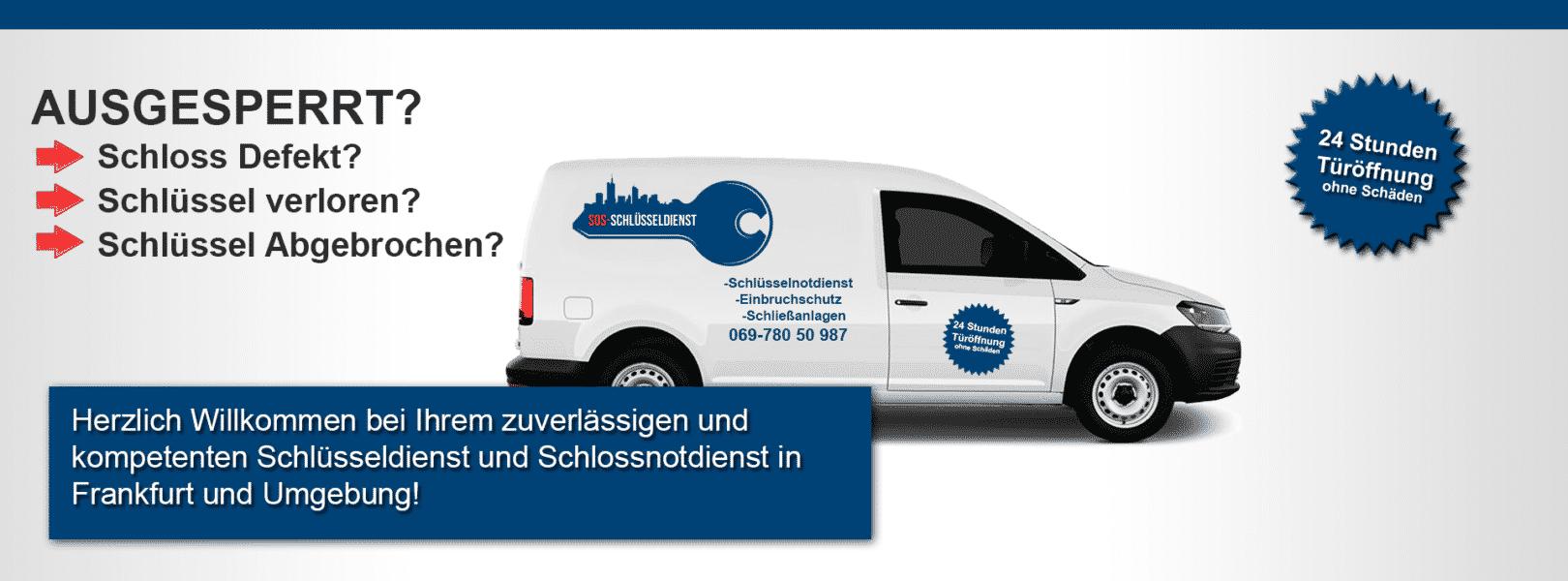 Schlüsselnotdienst Frankfurt